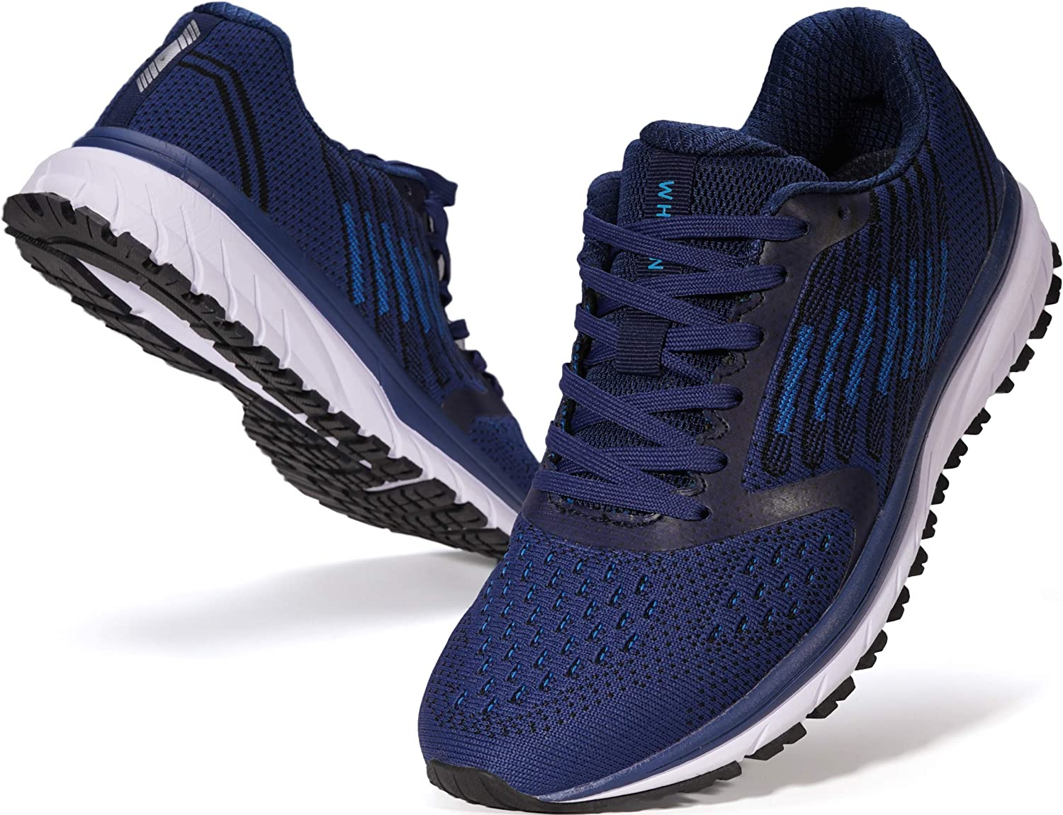 JOOMRA Men's Supportive Running Shoes Cushioned Lightweight Athletic Sneakers