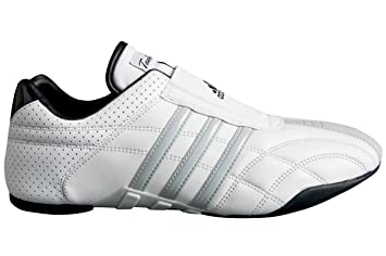 27f3d3cefed3 adidas - Chaussures taekwondo Adiluxe cuir bandes grises  Amazon.fr ...