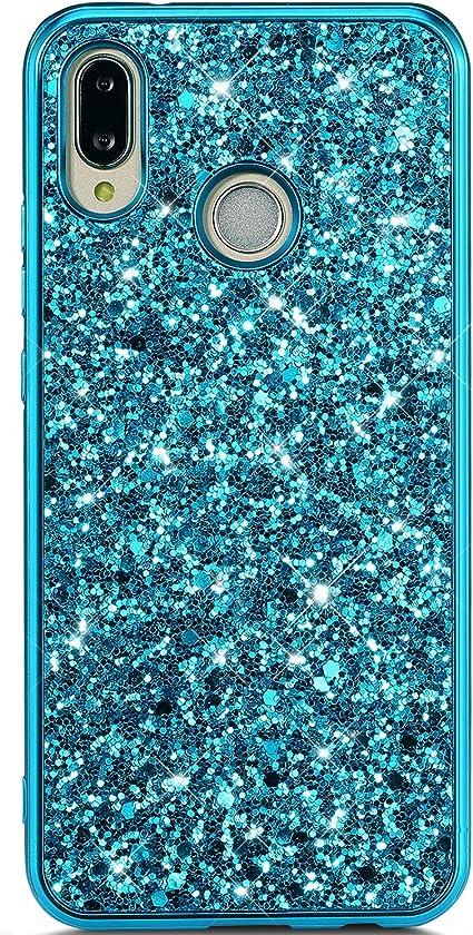 Hpory Cover Huawei P20 lite Glitter, Custodia Huawei P20 lite ...