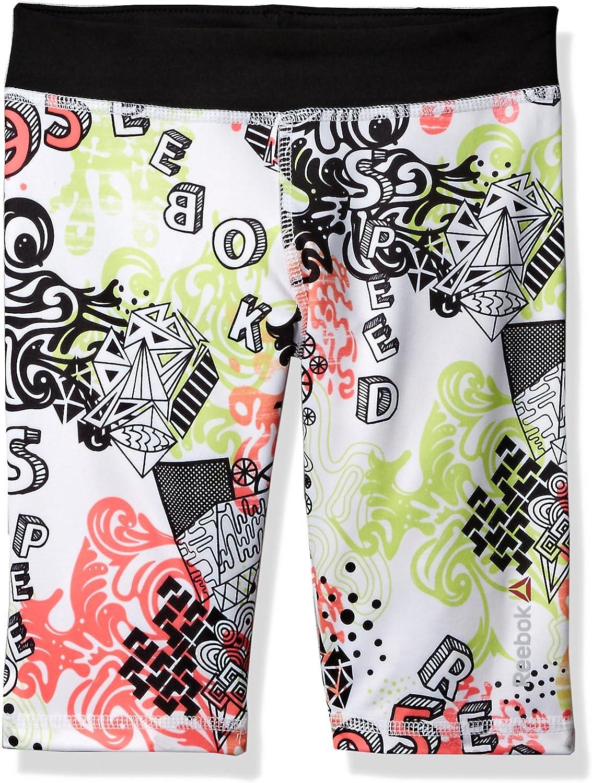 Reebok Girls AOP Bike Short Shorts