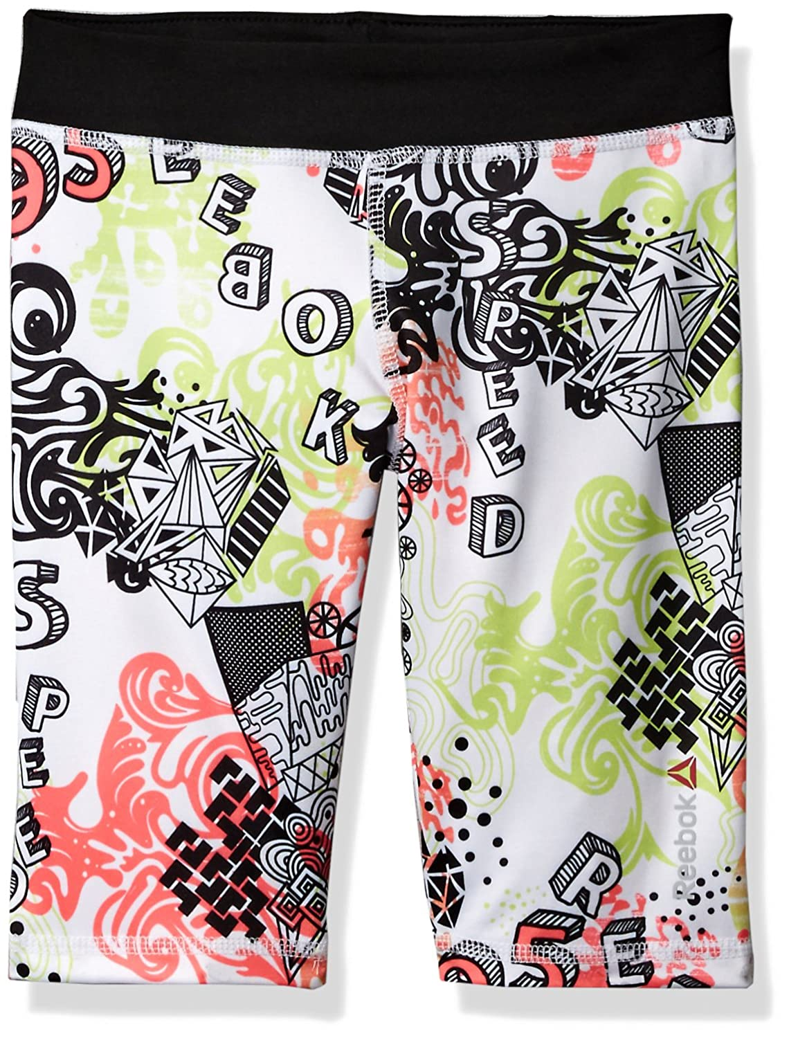 Reebok Girls' AOP Bike Short Reebok Children' s Apparel (from Parigi) QGM7310