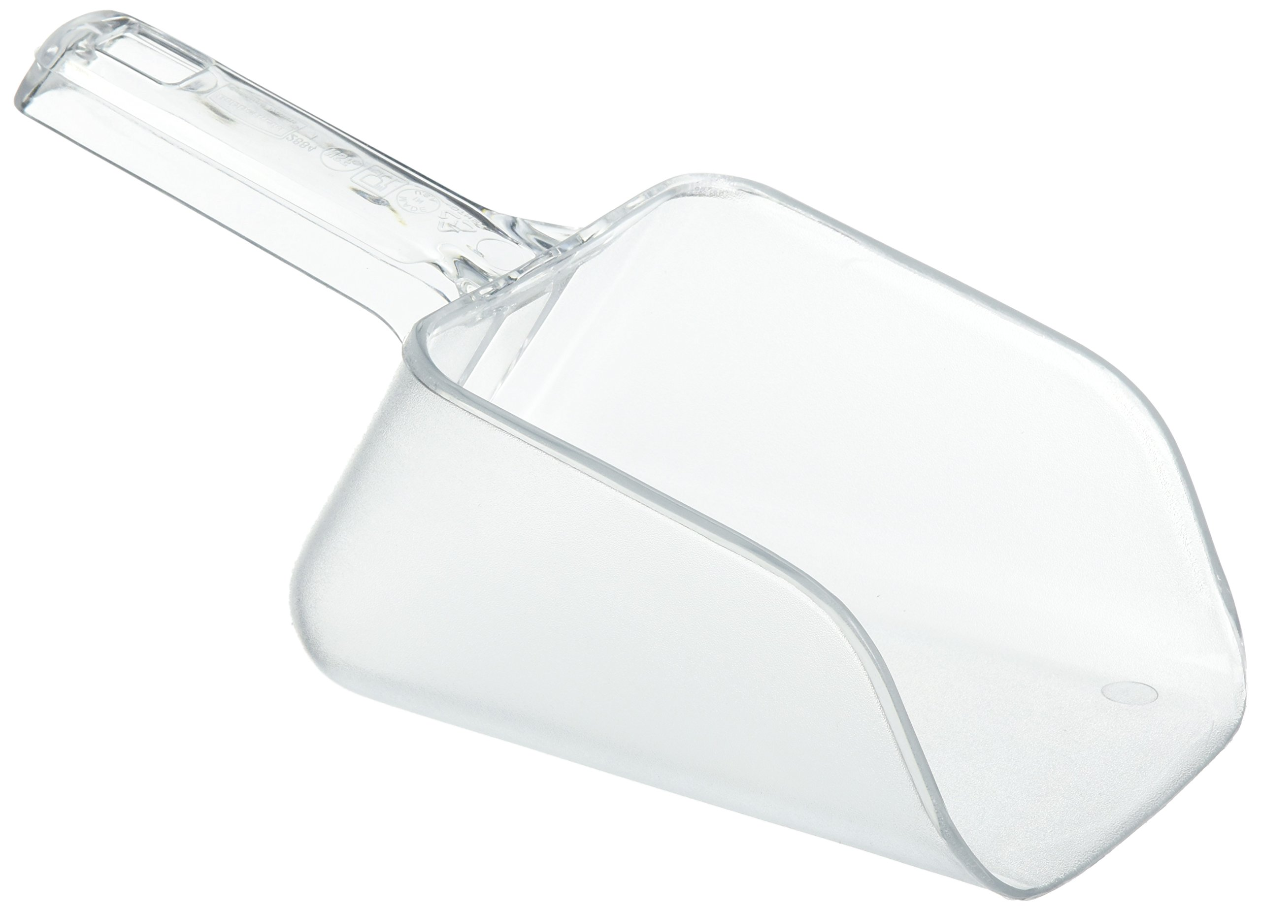 Rubbermaid Commercial Bouncer Ice Scoop, 32 Ounce, Clear, FG288400CLR