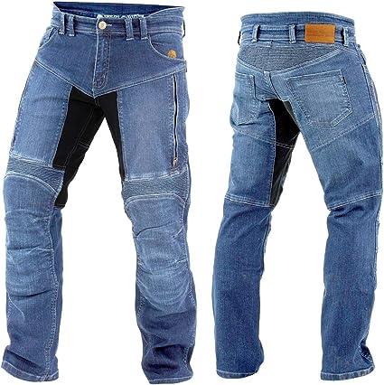 Trilobite Kevlar Jeans Paradon T/ÜV Herren Blau