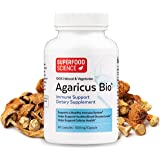 Superfood Science Agaricus Bio, Agaricus Blazei Immune System Booster Mushroom Supplement, Organic Agaricus Blazei…