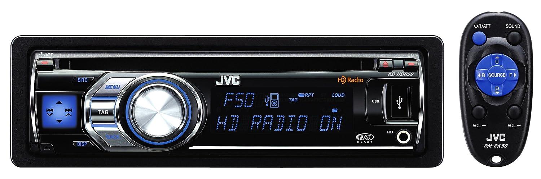 amazon com jvc kd hdr50 30k color illumination single din hd radio rh amazon com JVC Radio Receiver JVC Radio CD Player
