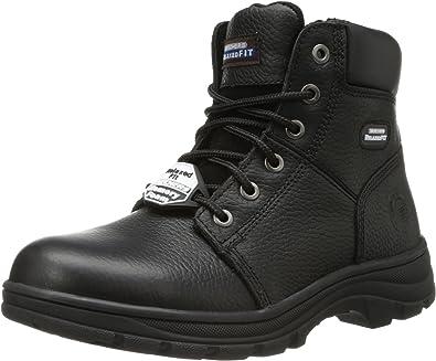 Lluvioso Privilegio Centelleo  Amazon.com: Skechers Work Workshire - Condor: Shoes