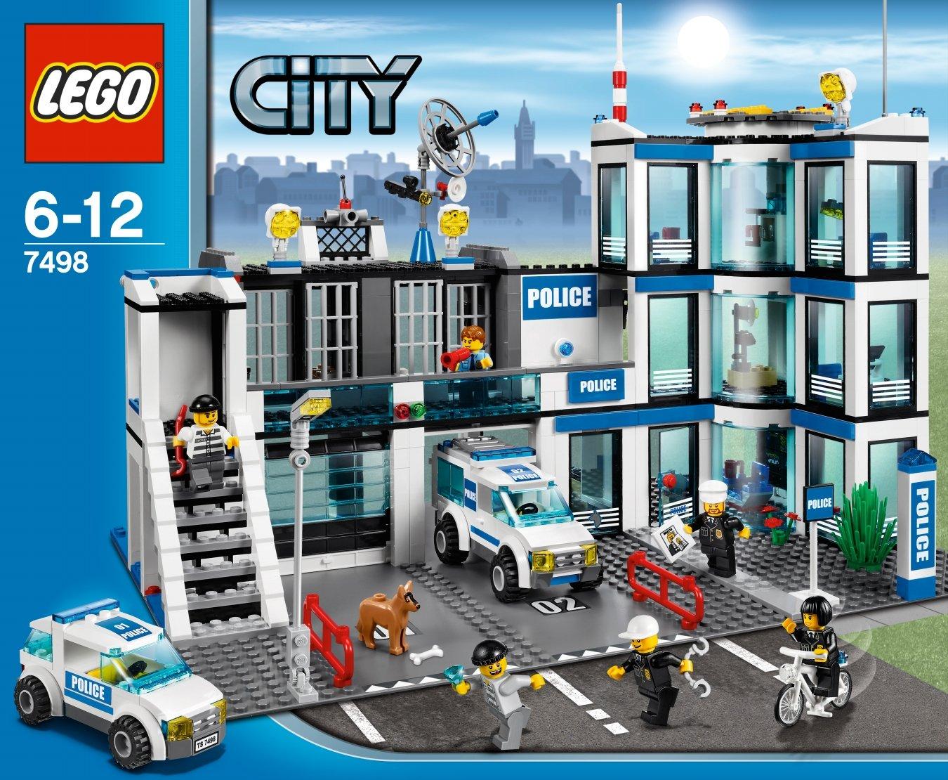 Lego City 7498 Police Station Lego City Amazon Toys Games