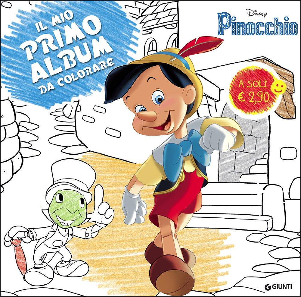 Amazon It Pinocchio Primo Album Da Colorare Ediz Illustrata