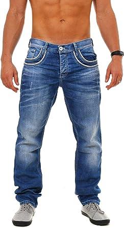 TALLA 30W / 30L. Cipo & Baxx - Pantalones Vaqueros para Hombre