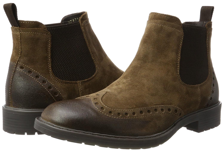 Geox U743PD00023 (Ebony) Herren Chelsea Boots Braun (Ebony) U743PD00023 73f81b