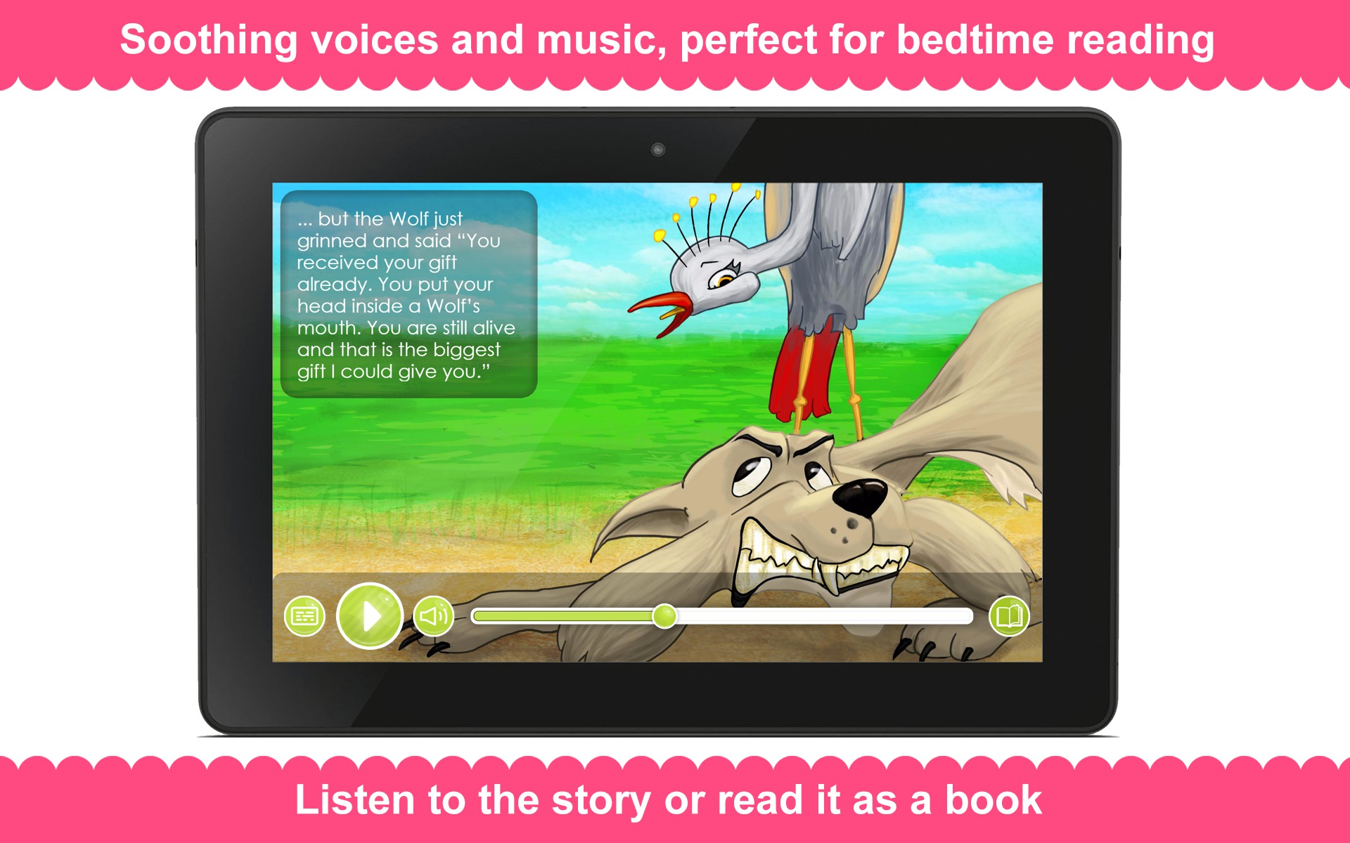 amazoncom the wolf and the crane appstore for android