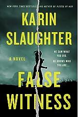 False Witness: A Novel Kindle Edition