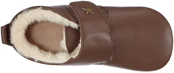 Star HOMESHOE with Wool - Plantilla Comfort infantil, Color Marrón (60 Brown), Talla 26 Bisgaard
