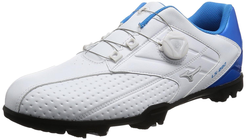 [ミズノ ゴルフ] ゴルフシューズ ライトスタイル 002 ボア B01N3Y8YJ1 27.0 3E ホワイト/ブルー