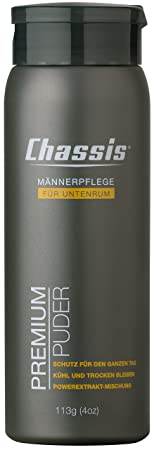 Chassis Premium Body Powder For Men, Fragrance Fresh by Amazon