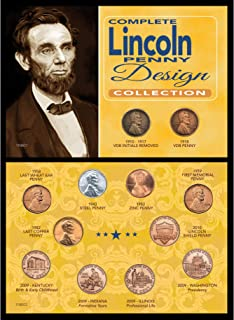 product image for Complete Lincoln Penny Design Collection