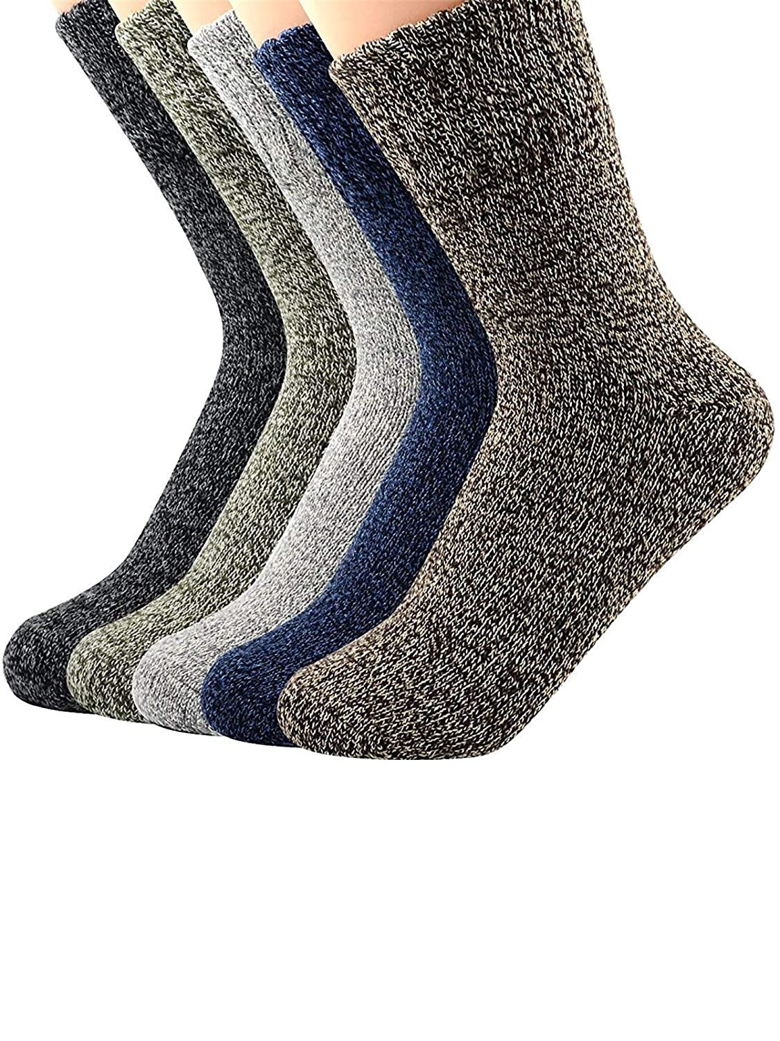 Winter Boot Socks For Women Warm Fun Crew Cozy Comfy Wool Bombas Socks Urban Virgin MNUCAUVCFTA9207