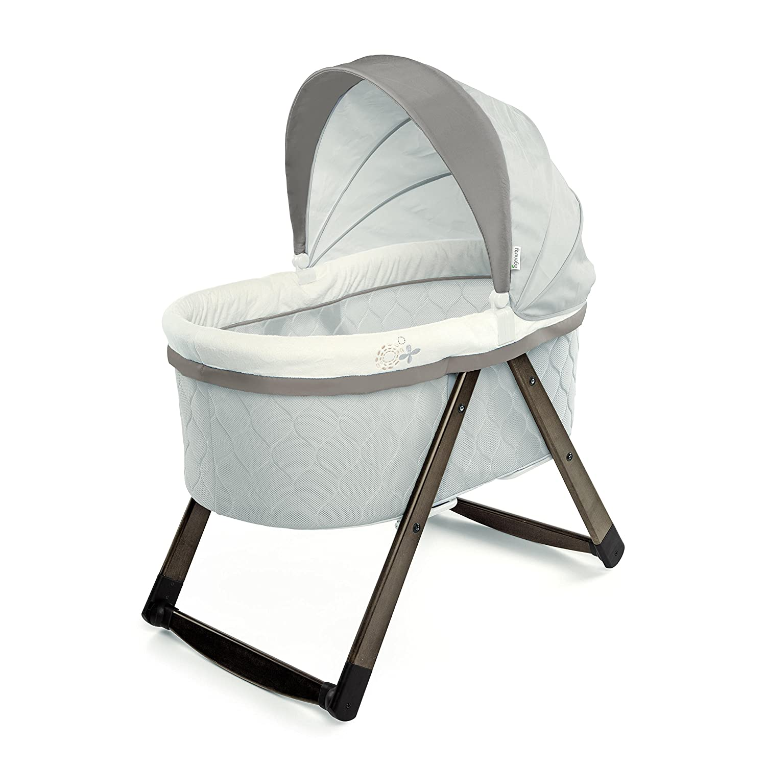 Ingenuity Foldaway Rocking Wood Bassinet – Carrington