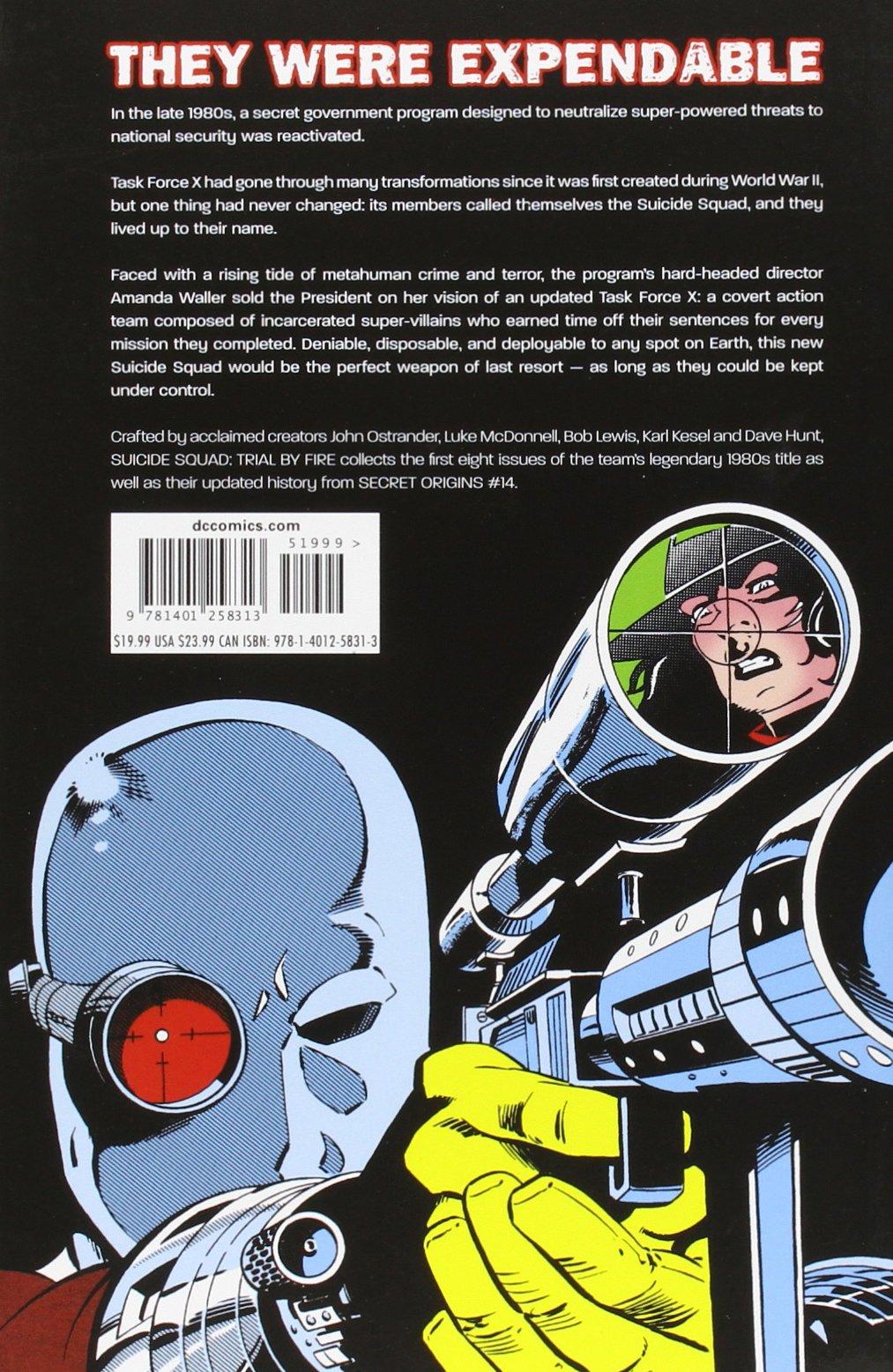 Amazon com: Suicide Squad Vol  1: Trial by Fire