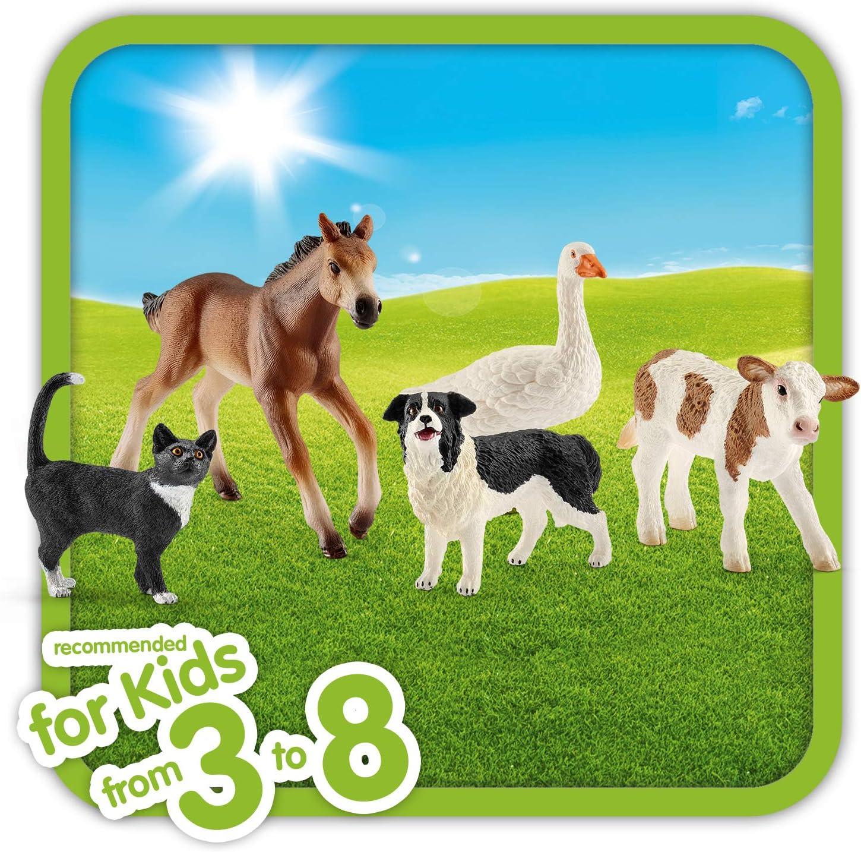 SCHLEICH 13746 asino puledri-Nuovo con etichetta-farm World-fattoria animali