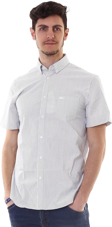 Lacoste Camisa mm Hombre Regular 525 46: Amazon.es: Deportes y aire libre