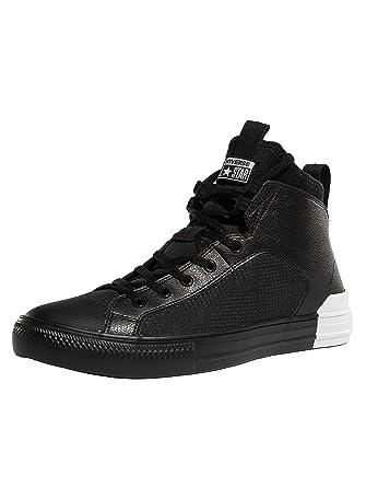 timeless design c96dd bec8a Converse Homme Baskets CT All Star en cuir ultra, Noir, 40