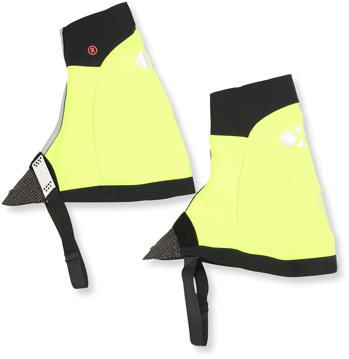 GORE WEAR X-Running Windstopper Calcetines, Unisex, (Neon Yellow/Black), Talla única: Amazon.es: Deportes y aire libre