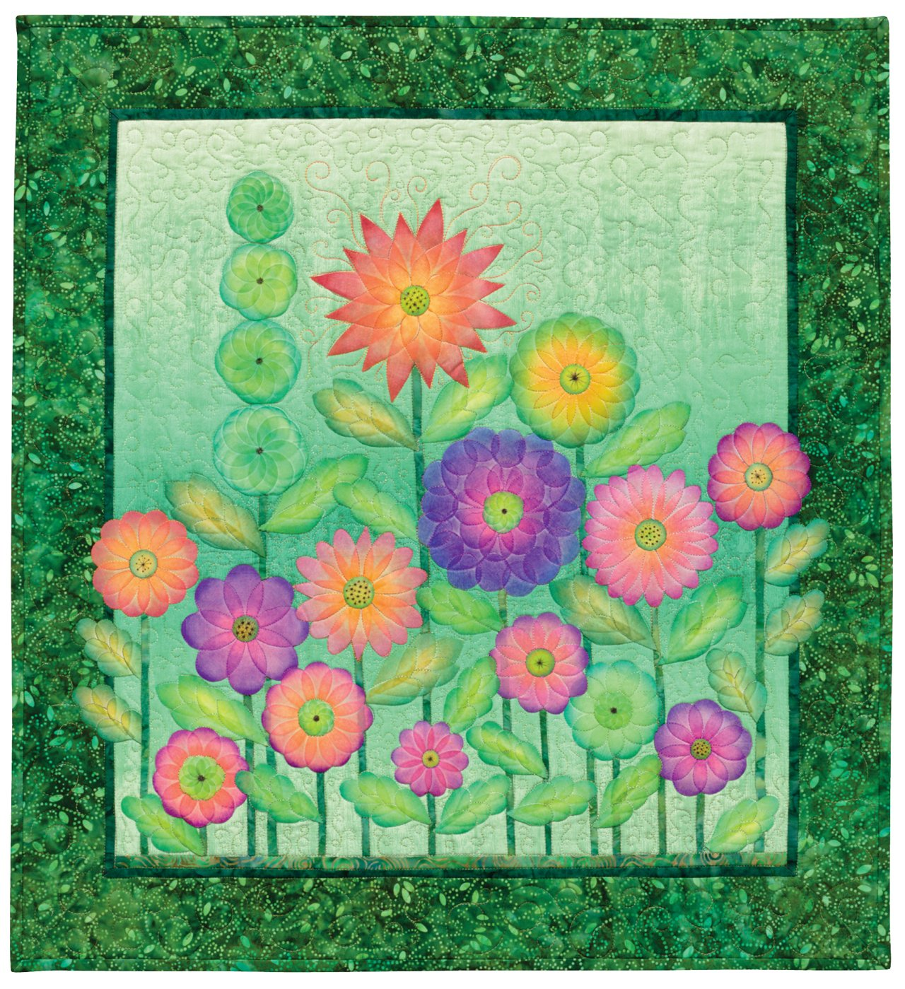 Creative Quilts from Your Crayon Box: Melt-n-Blend Meets Fusible Applique by That Patchwork Place (Image #5)