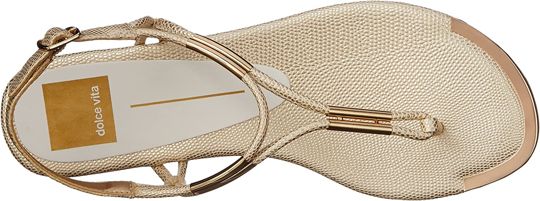Dolce Vita Womens Marly Flat Sandal