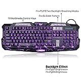 FASTDISK Backlit Glowing Keyboard Wired