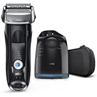 Braun Series 7 Men's Electric Foil Shaver w/ Wet & Dry Integrated Precision Trimmer & Cordless Razor