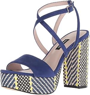 72513773413 Nine West Women s Markando Suede Heeled Sandal
