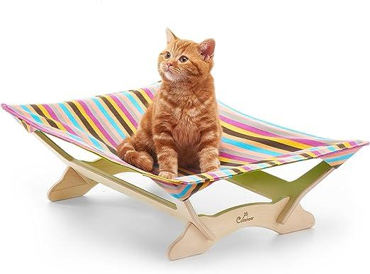 Catoneer - Hamaca para gato, cama para mascotas, marco de cama para mascotas, cama para perros pequeños,
