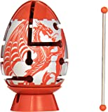 RED Dragon 2-Layer Smart Egg Labyrinth Puzzle (Difficult)