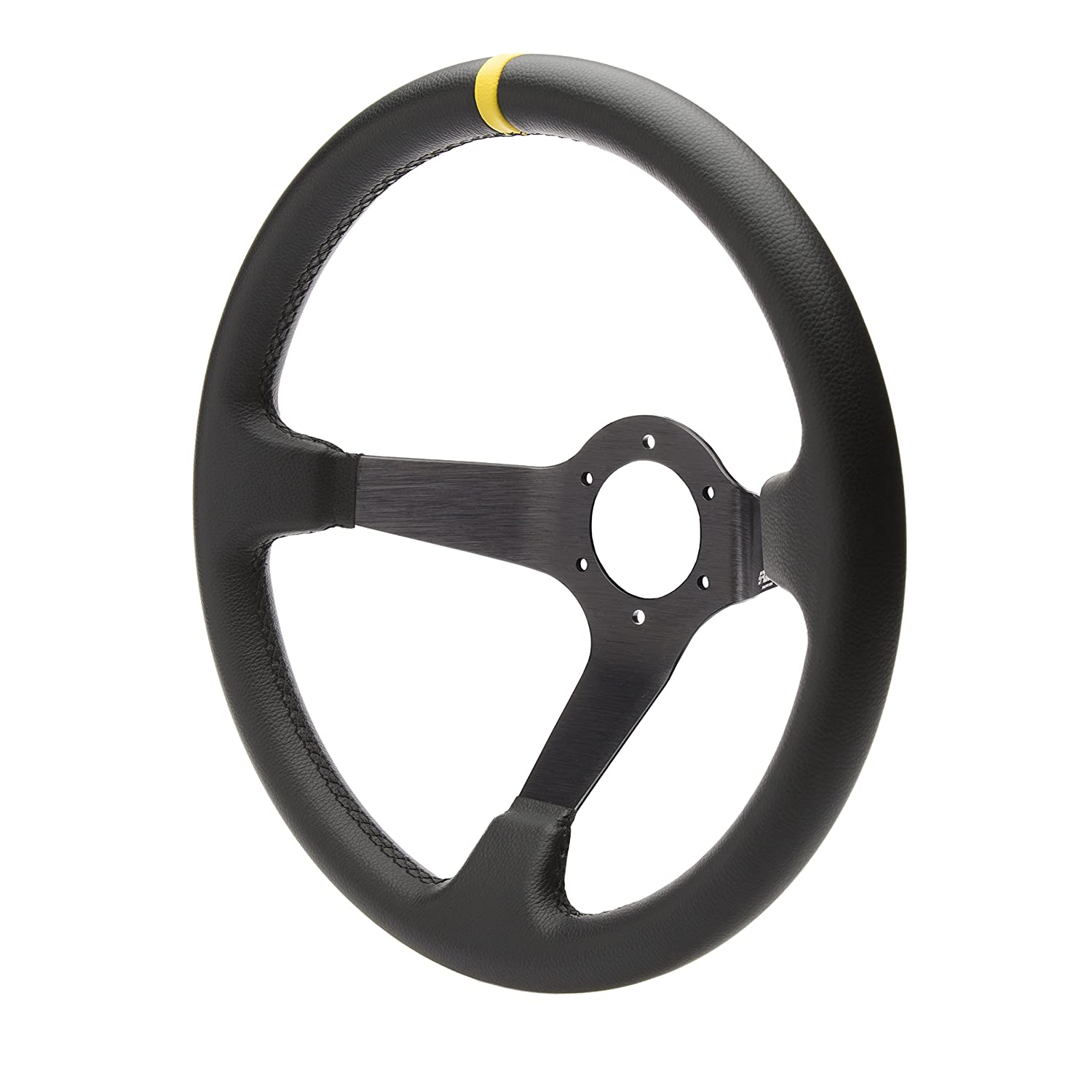 Simoni Racing CAR/350P Volante Sportivo a Calice, Nero/Giallo