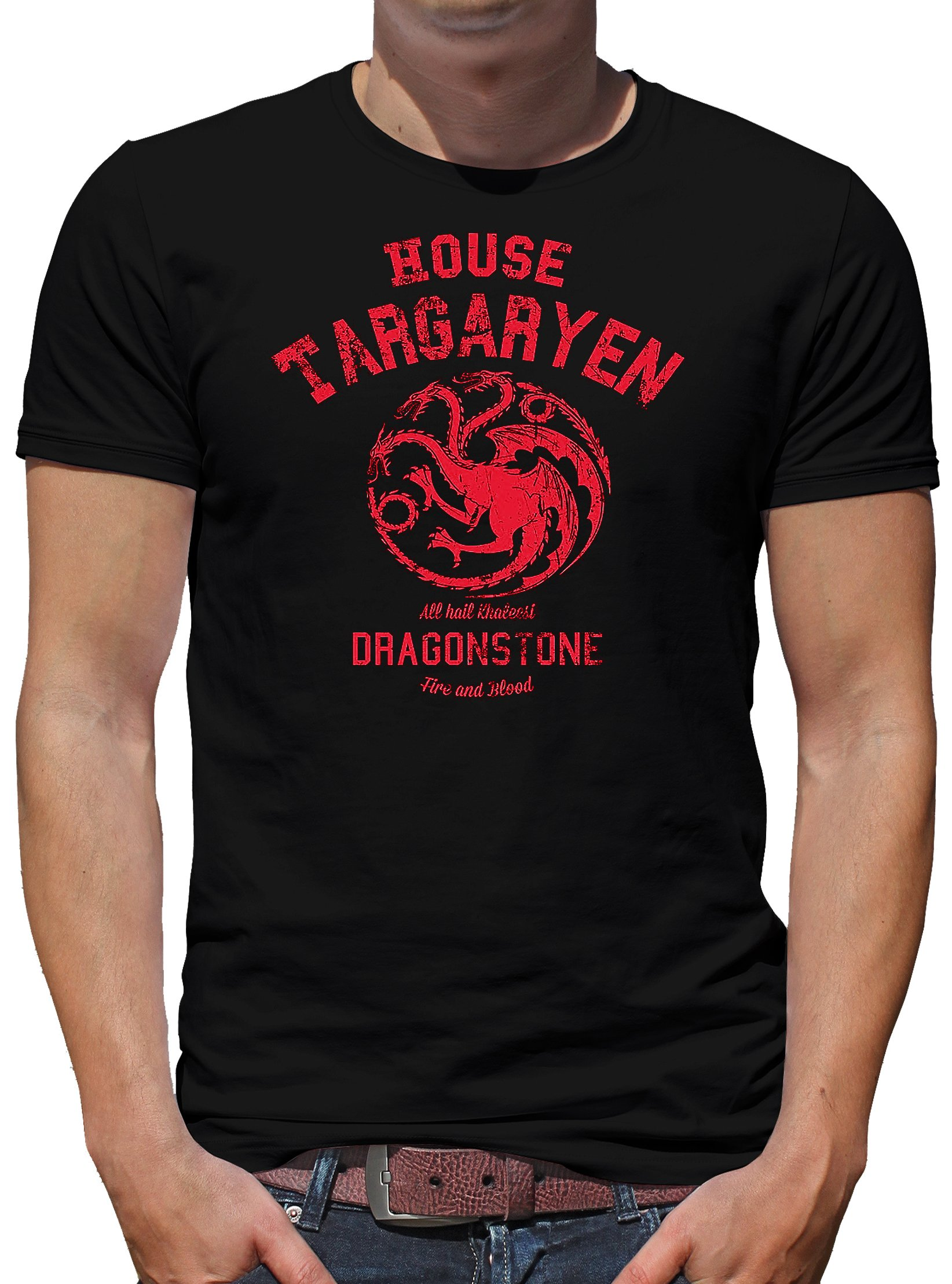 Touchlines House Targaryen T Shirt 6056