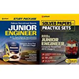 COMBO PACK OF RRB JE Study Guide 2019 Stage 1 WITH RRB JE Solved Paper and Practice Set FOR 2019 EXAMINATION