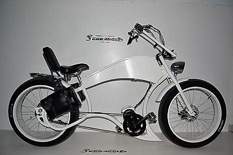 Cicli Ferrareis Bici Fat Bike Chopper Harley Davidson Replica Ebike