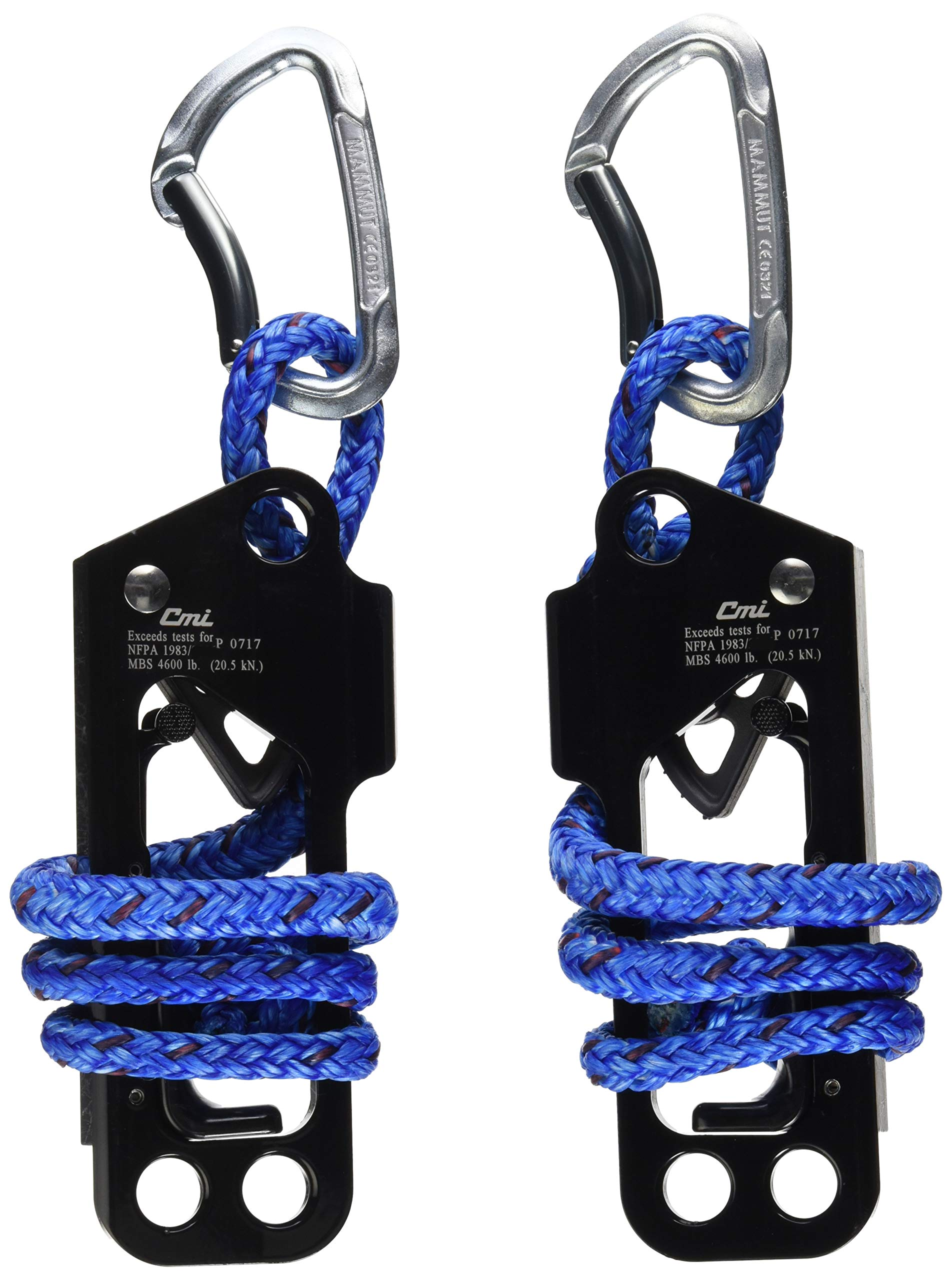 Tumble Forms 2 Deluxe Vestibulator II System, Replacement Ropes with 2 Ascenders & 2 Carabiners, Accessory for Sensory Integration Therapy Equipment, Enhance Spatial Awareness, Balance & Movement
