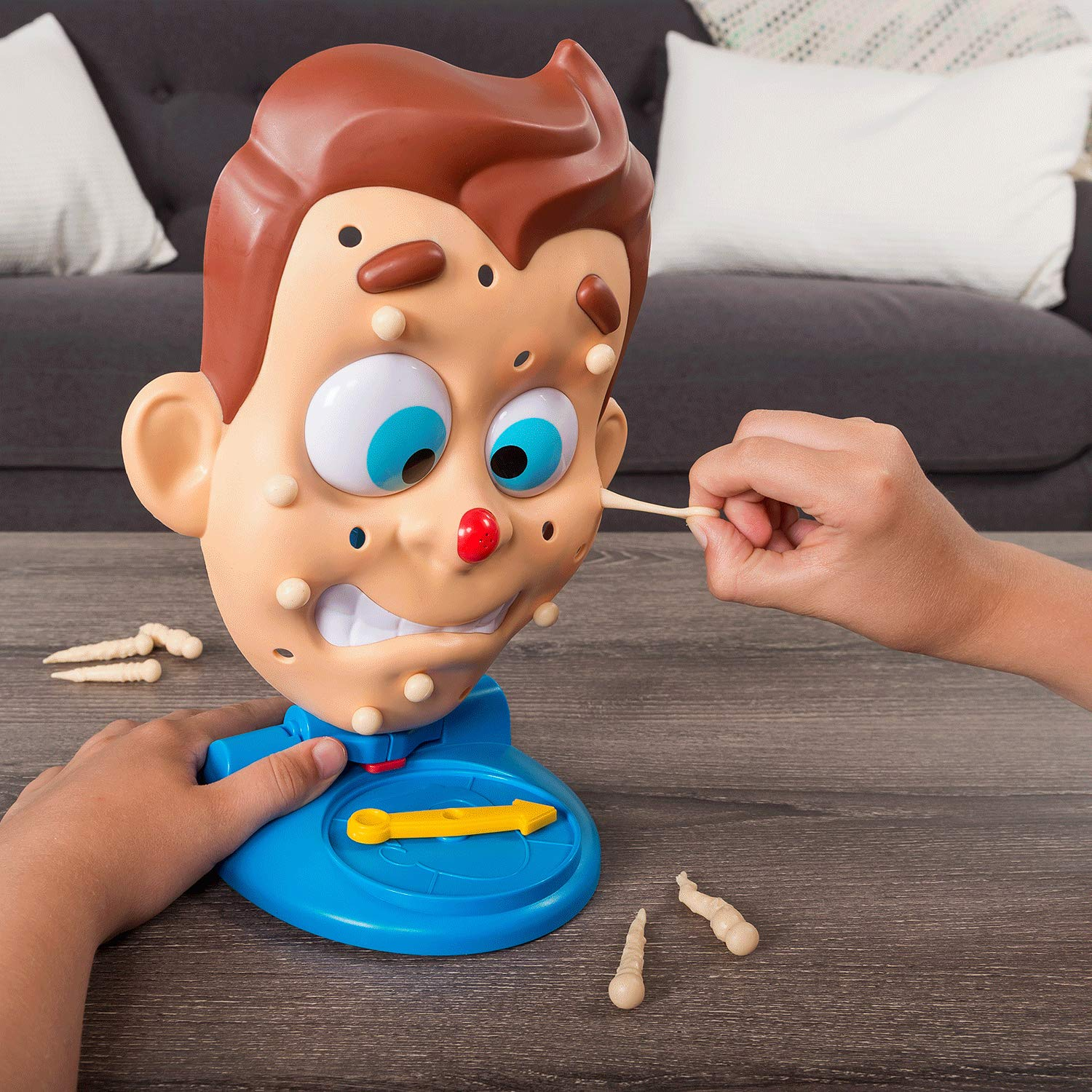 Pimple Pete Game Presented by Dr  Pimple Popper, Explosive Family Game for  Kids Age 5 and Up