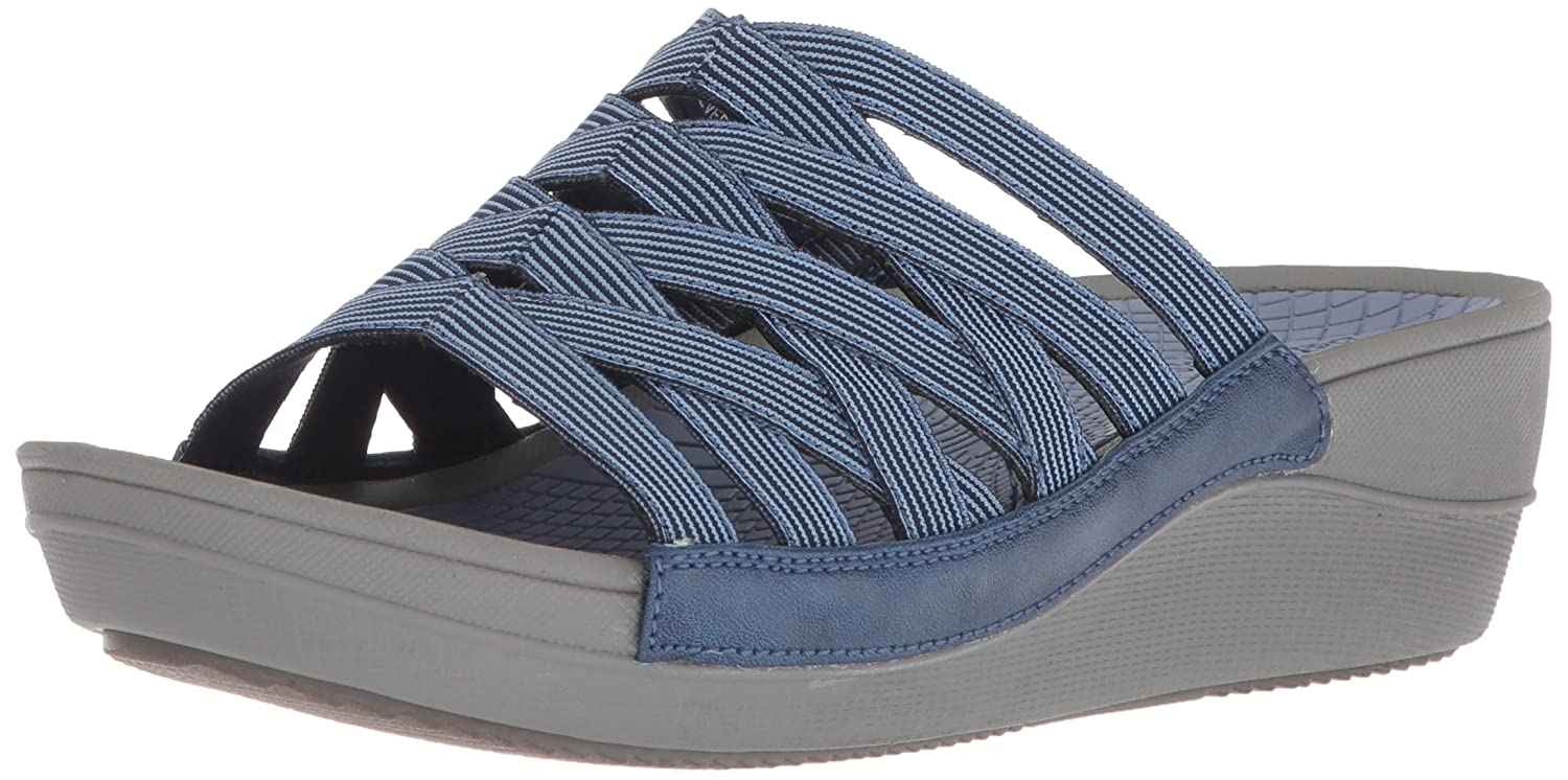 BareTraps Women's Beverly Slide Sandal B075X7W115 6 B(M) US|Denim