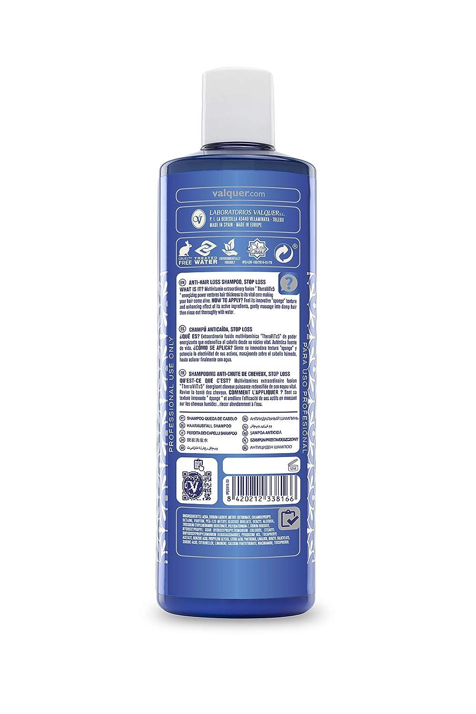 Válquer Champú Anticaspa. Elimina la caspa. Champú Zero; sin sulfatos - 400 ml: Amazon.es: Belleza