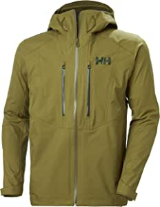 Helly-Hansen Verglas Lightweight Waterprooof Windproof Breathable Hooded 3-Layer Shell Jacket