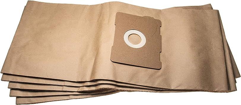 vhbw 5 bolsas aspiradora papel compatible con Protool Festool VCP 320 E, 321 E-L aspiradora 66.25cm x 29.65cm: Amazon.es: Hogar