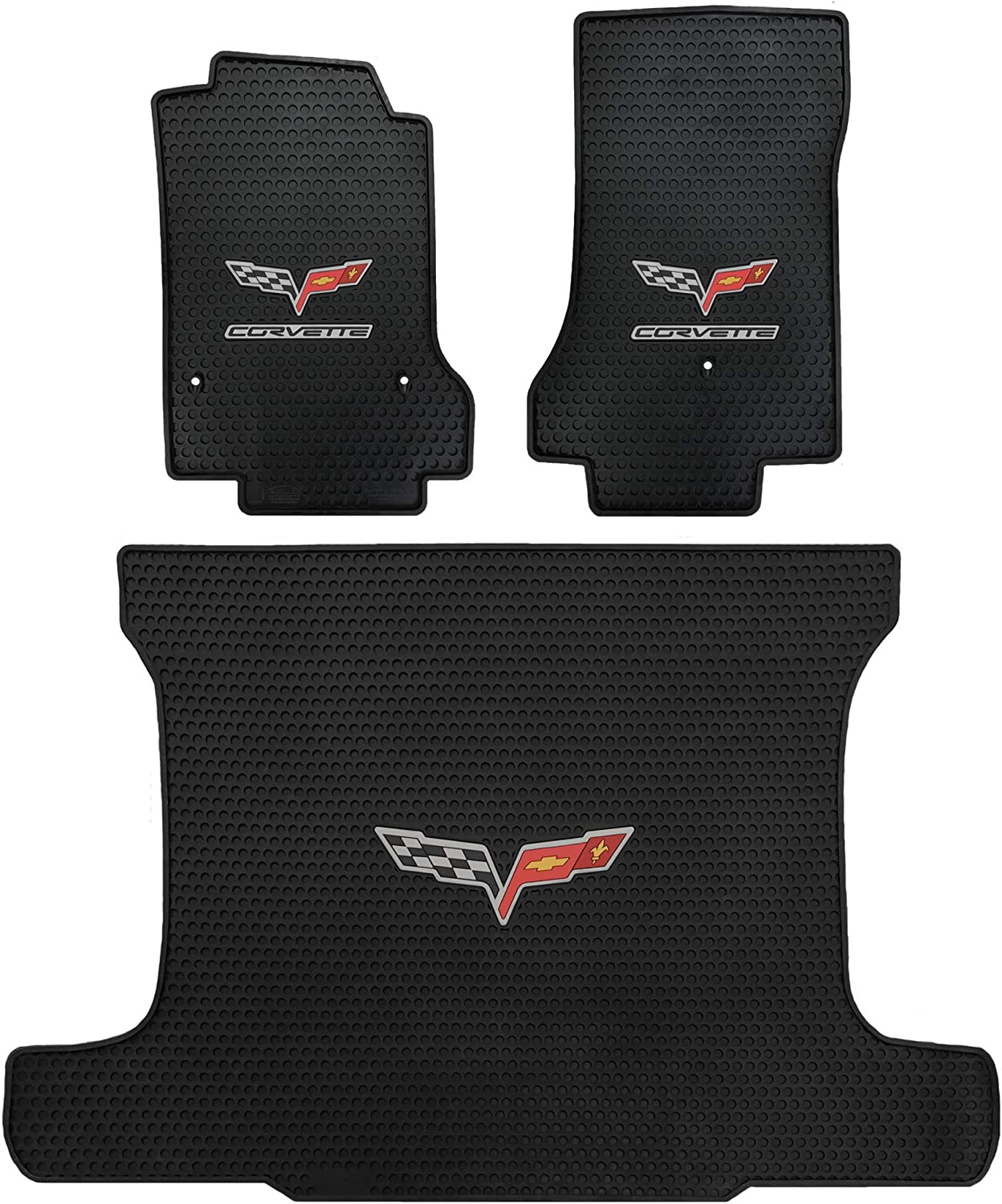 GGBAILEY D51142-F1A-GY-LP Custom Fit Car Mats for 2013 2017 Ram Pickup 1500 Grey Loop Driver /& Passenger Floor 2015 2016 2014