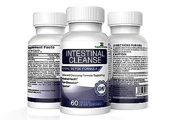 LIMPIEZA INTESTINAL– Nogal Negro y Ajenjo - Limpia y protege el sistema digestivo - Depurador Intestinal - 60 cápsulas Detox Limpieza Colon por ...