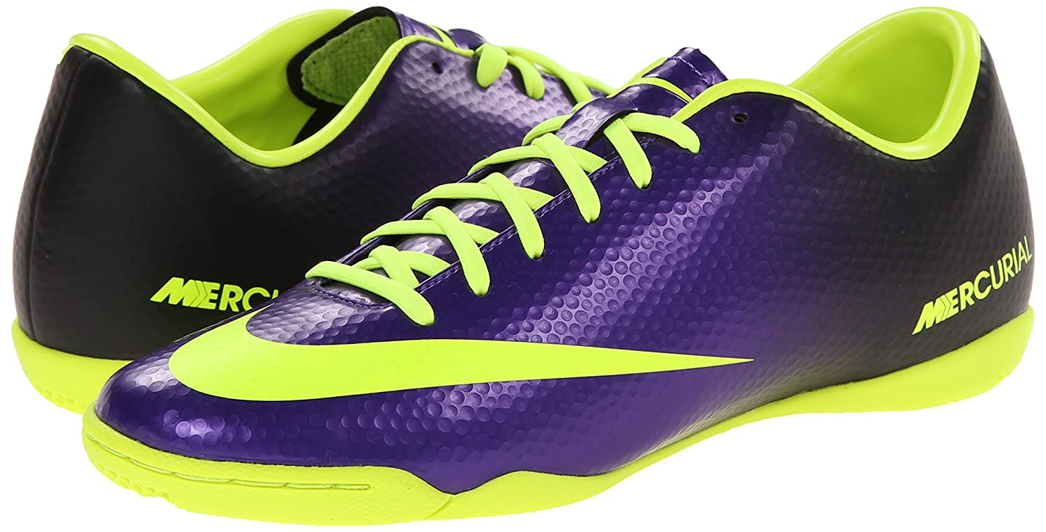 c084ac908e7 Amazon.com | NIKE Mens Mercurial Victory IV Indoor Soccer Cleat Electro |  Soccer