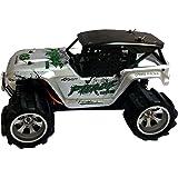 Generic 1:18 2.4Ghz Rock Crawler Die Cast Remote Car (A979-3), Silver