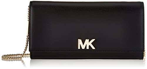 Michael Kors Womens Mott Clutch Black (BLACK)
