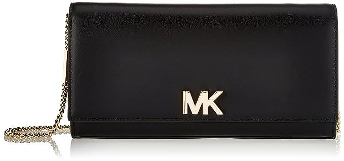 419da96c7ebc Michael Kors Womens Mott Clutch Black (BLACK)  Amazon.co.uk  Shoes ...